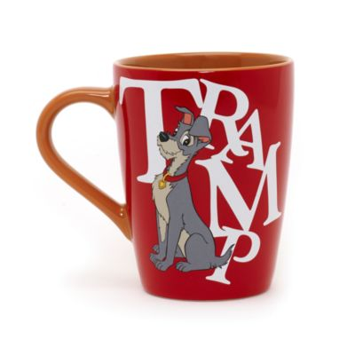 Lady and the Tramp Letters Mug