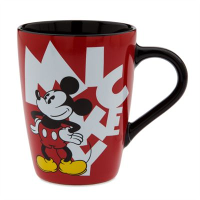 Mickey Letters Mug