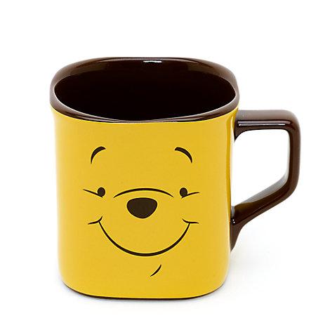 Winnie The Pooh Face Square Mug