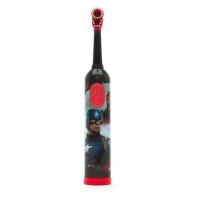 Spazzolino da denti con azione rotante e timer Capitan America