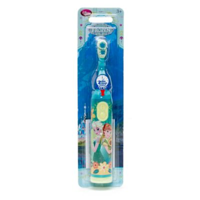 Anna and Elsa Rotary Toothbrush With Timer, Frozen Fever