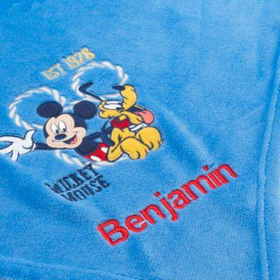 Jeté polaire Mickey Mouse