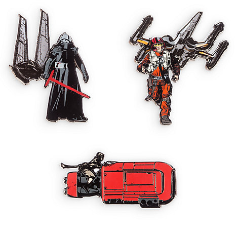 Star Wars: The Force Awakens Limited Edition Pin Set