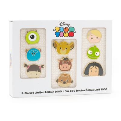 Tsum Tsum Limited Edition Pins, Set of 9