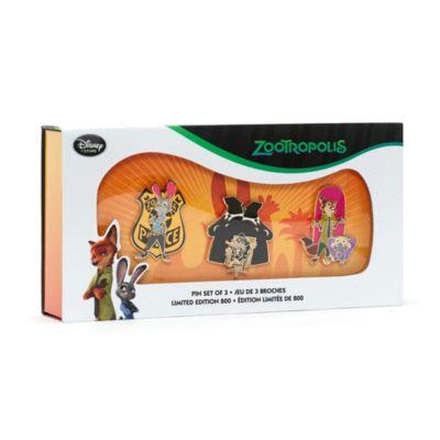 Zoomania - Anstecknadelset in limitierter Edition