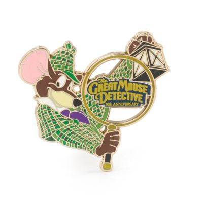 Basil The Great Mouse Detective Limited Edition Pin