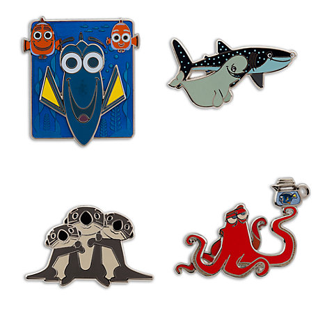 Finding Dory Limited Edition Pin Set