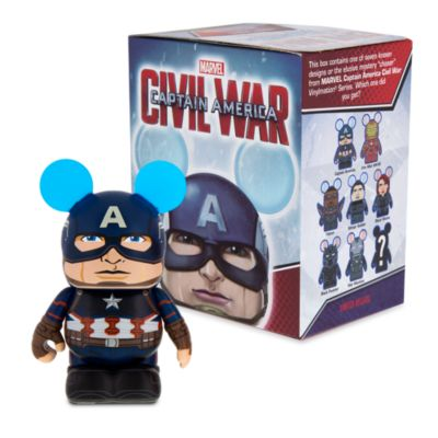 Figurine 7,5 cm Vinylmation Captain America : Civil War