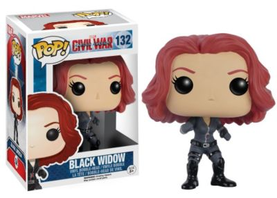 Black Widow Pop! Vinyl Figure by Funko, Captain America: Civil War