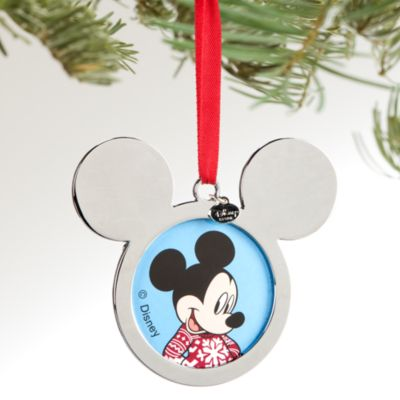 Decoración navideña foto Mickey Mouse