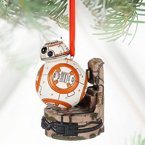Decoración navideña luminosa BB-8, Star Wars
