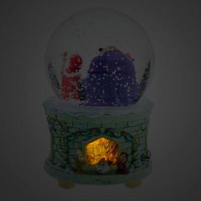 Art of Belle - Schneekugel mit Musik und Leuchteffekt