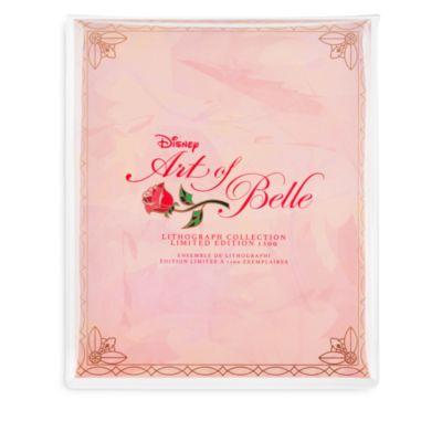 Set 6 litograf¡as edici¢n limitada Art of Belle