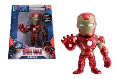 Muñeco a escala Iron Man Metals, Capitán América: Civil War (10 cm)