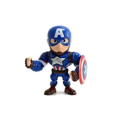 Figurine Captain America Metals de 10,16 cm, Captain America : Civil War