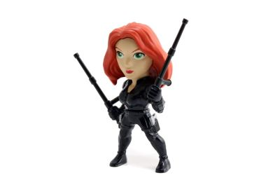 Figurine Black Widow Metals de 10,16 cm, Captain America : Civil War