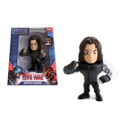 Modellino personaggio Soldato d'Inverno 10 cm serie Metals, Captain America: Civil War