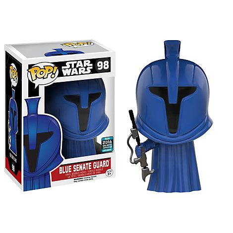 Figura vinilo Pop! Funko, guardia Senado Azul Star Wars Figura de vinilo de Funko