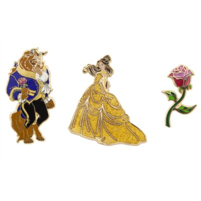 Art of Belle Limited Edition Pins, Set of 3