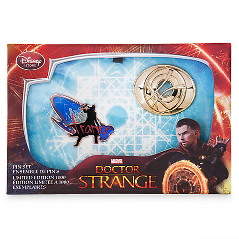 Juego de pines de edición limitada de Doctor Strange
