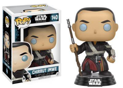 Figura vinilo Pop! Funko: Chirrut Imwe, Rogue One: Una historia de Star Wars