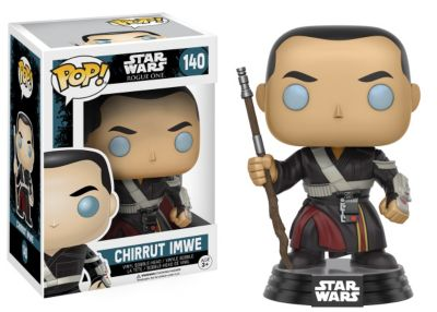 Personaggio in vinile Chirrut Imwe serie Pop! di Funko, Rogue One: A Star Wars Story