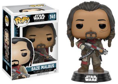 Personaggio in vinile Baze Malbus serie Pop! di Funko, Rogue One: A Star Wars Story