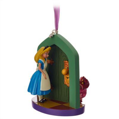 Decorazione natalizia Alice nel paese delle meraviglie
