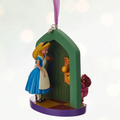 Decoración navideña de Alicia en el País de las Maravillas