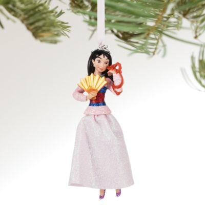 Decoración navideña Mulán