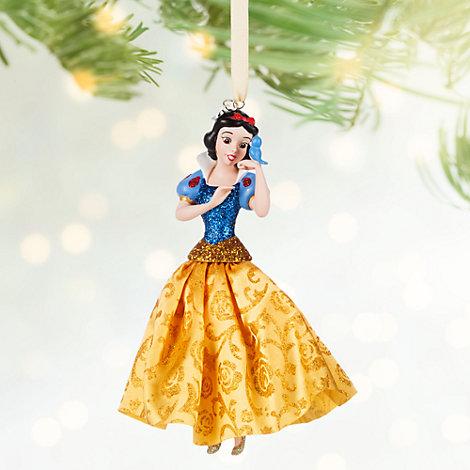 Decoración navideña de Blancanieves