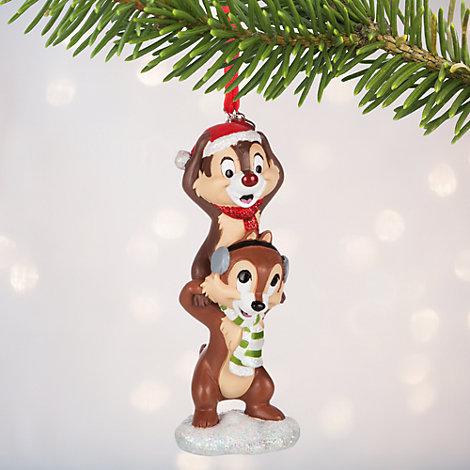 Decoración navideña Chip y Chop