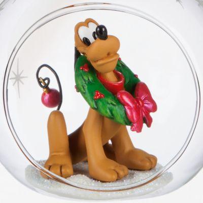 Pluto Open Globe Christmas Decoration