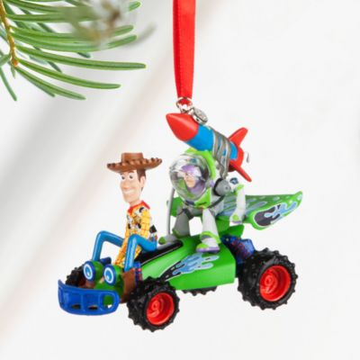 Decoración navideña Woody y Buzz