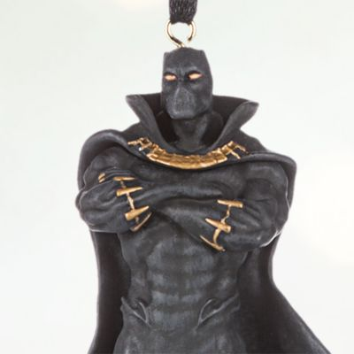 Decoración navideña Pantera Negra