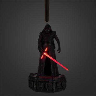 Decoración navideña luminosa Kylo Ren, Star Wars VII: El despertar de la Fuerza