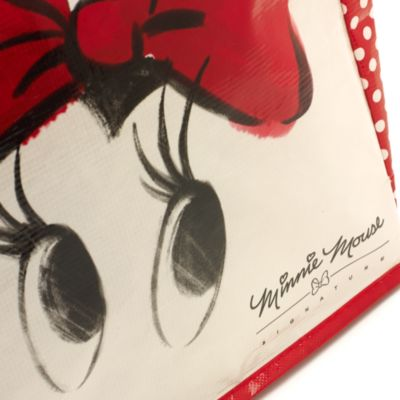Red Minnie Mouse Shopper