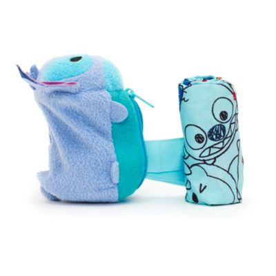Stitch Tsum Tsum Plush Roll-Up Shopper Bag