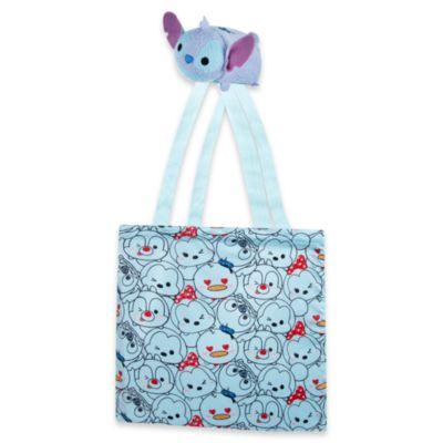 Stitch - Disney Tsum Tsum Einkaufstasche zum Zusammenrollen