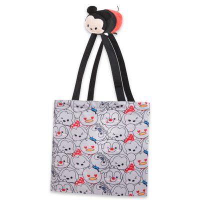 Bolsa compra plegable peluche Tsum Tsum Mickey Mouse