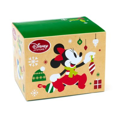 Mickey And Minnie Mouse Festive Mug Gift Box, Small