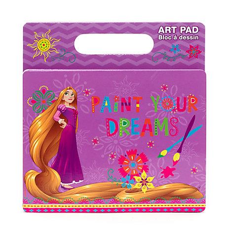 Rapunzel Art Pad