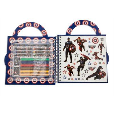 Set de actividades Capitán América: Civil War, colección Fun On The Run