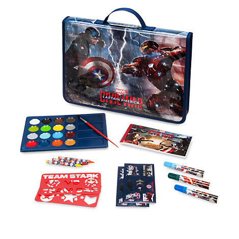 Captain America: Civil War Art Filled Pencil Case