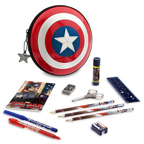 Captain America Filled Pencil Case