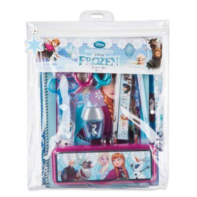 Kit de fournitures de papeterie La Reine des Neiges
