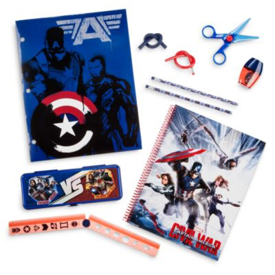 Captain America Stationery Supply Kit