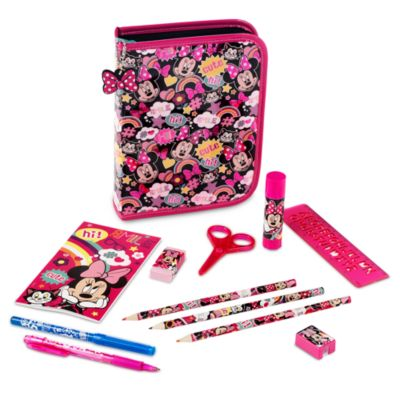 Minnie Mouse Filled Pencil Case