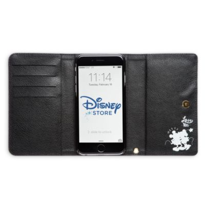 Micky und Minnie Maus - Geldbörse und Handytasche
