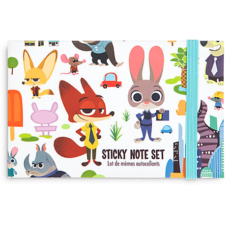 Zootropolis Sticky Notes and Pen Set